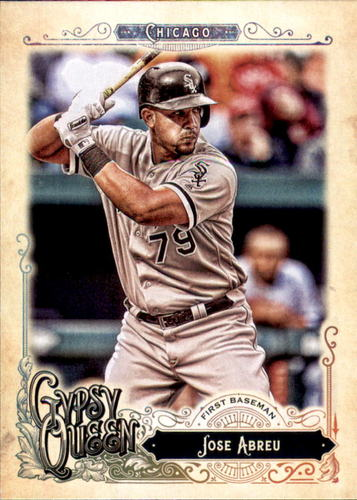 Photo of 2017 Topps Gypsy Queen #296 Jose Abreu