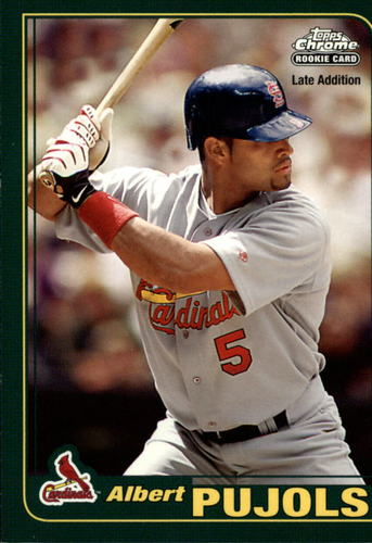 Photo of 2006 Topps Rookie of the Week #6 Albert Pujols 01