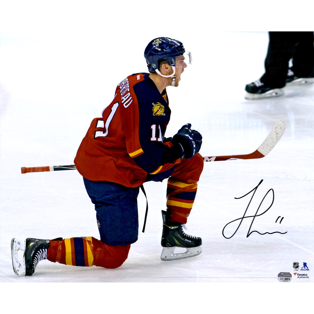 Jonathan Huberdeau Florida Panthers Autographed 16