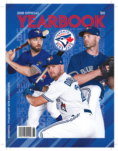 Toronto Blue Jays 2018 Yearbook