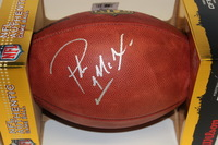 NFL - COLTS PAT MCAFEE SIGNED AUTHENTIC FOOTBALL