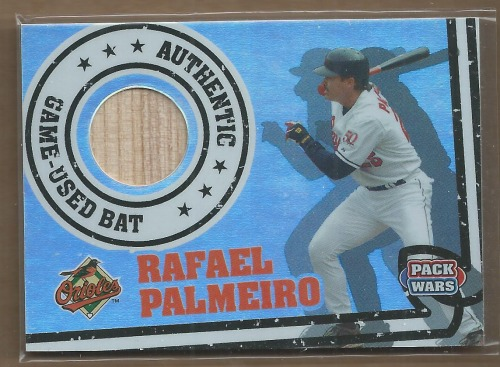 Photo of 2005 Topps Pack Wars Relics #RP Rafael Palmeiro Bat B