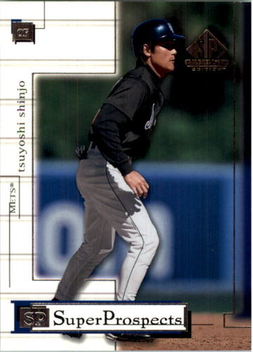 Photo of 2001 SP Game Used Edition #79 Tsuyoshi Shinjo RC