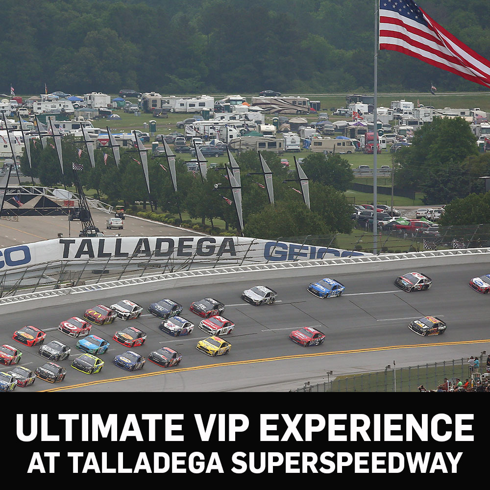 Ultimate VIP Experience at Talladega Superspeedway!
