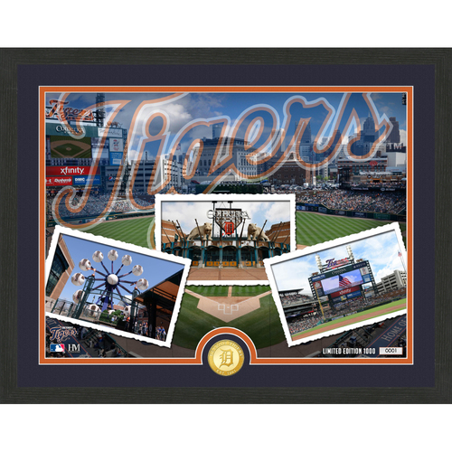 "Photo of Detroit Tigers ""Team Pride"" Bronze Coin Photo Mint - MLB.com Auctions Exclusive"