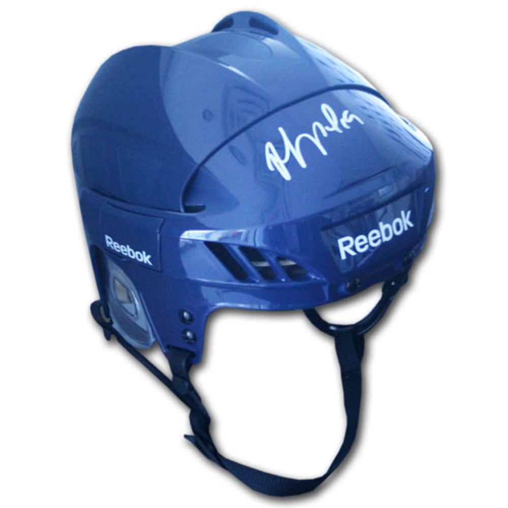 Joffrey Lupul Autographed Reebok Hockey Helmet (Toronto Maple Leafs)