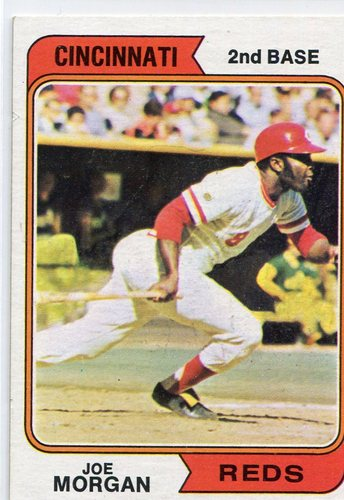 Photo of 1974 Topps #85 Joe Morgan Hall of Famer