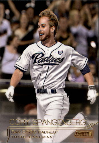 Photo of 2015 Stadium Club Gold #128 Cory Spangenberg