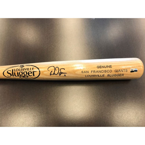 Photo of Giants Community Fund: Denard Span Autographed Bat