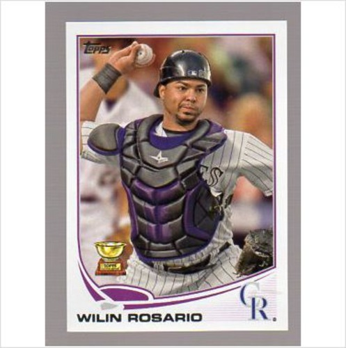Photo of 2013 Topps #375 Wilin Rosario