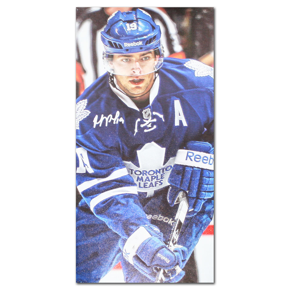 Joffrey Lupul Autographed Toronto Maple Leafs 8X16