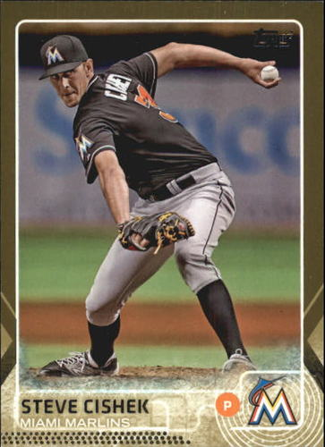 Photo of 2015 Topps Gold #254 Steve Cishek