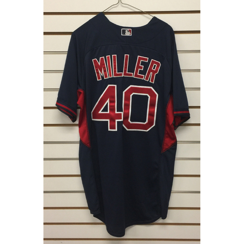 Photo of Mike Miller Team-Issued 2016 Road Batting Practice Jersey