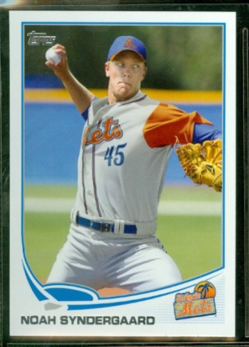 Photo of 2013 Topps Pro Debut #156 Noah Syndergaard