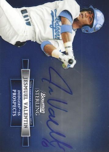 Photo of 2012 Bowman Sterling Prospect Autographs #JV Jesmuel Valentin