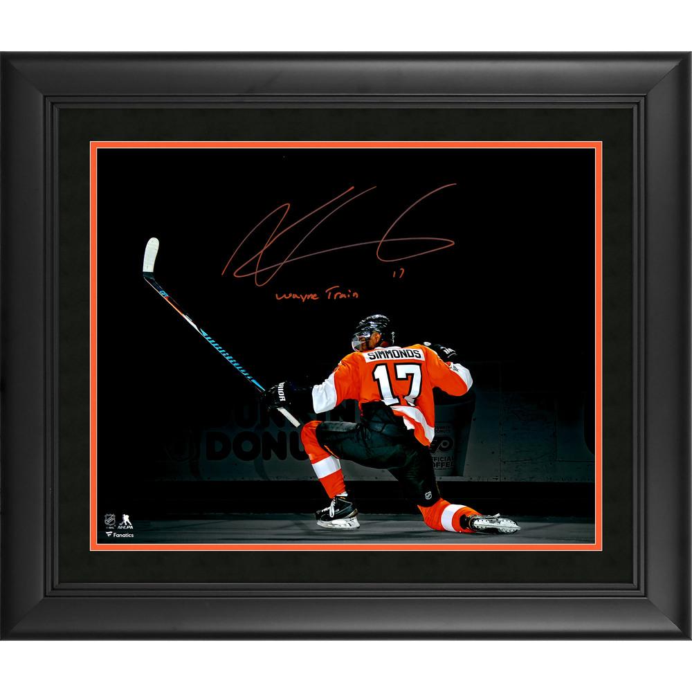 Wayne Simmonds Philadelphia Flyers Framed Autographed 16