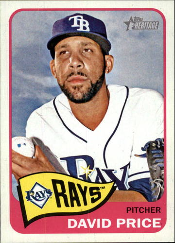 Photo of 2014 Topps Heritage #319 David Price