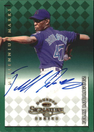 Photo of 1998 Donruss Signature Autographs Millennium #98 Felix Rodriguez