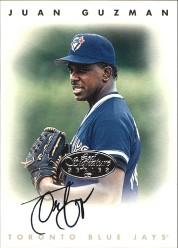 Photo of 1996 Leaf Signature Autographs Silver #88 Juan Guzman