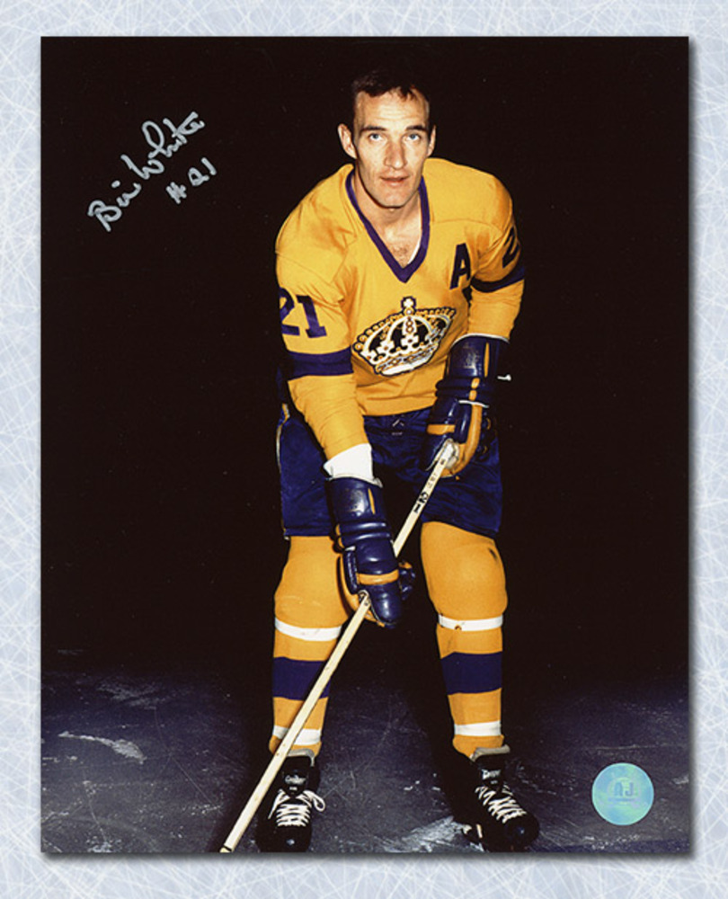 Bill White Los Angeles Kings Autographed 8x10 Photo