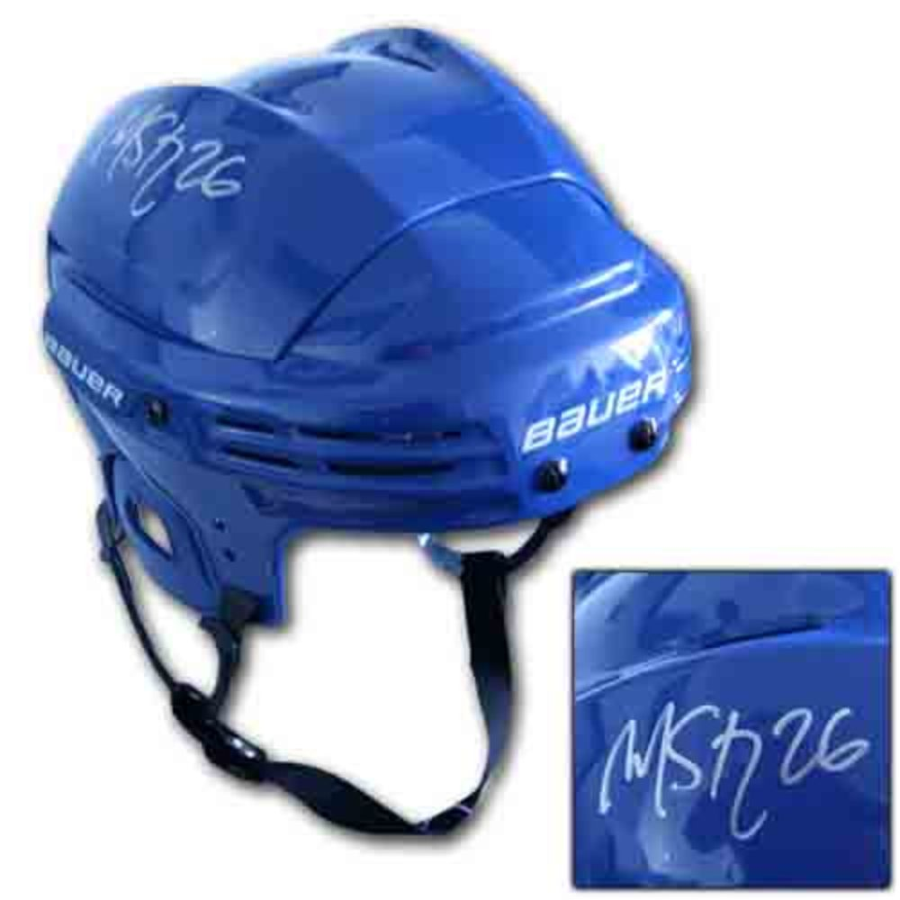Martin St. Louis (Tampa Bay Lightning) Autographed Bauer Hockey Helmet