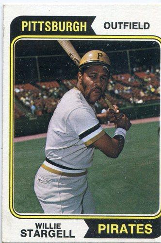Photo of 1974 Topps #100 Willie Stargell Hall of Famer