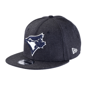 Heather Snapback Cap Navy by New Era
