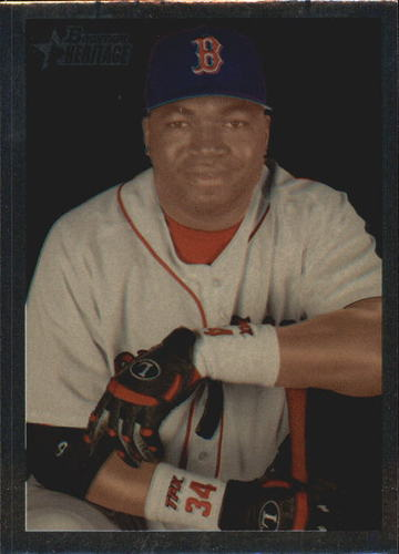 Photo of 2006 Bowman Heritage Chrome #175 David Ortiz