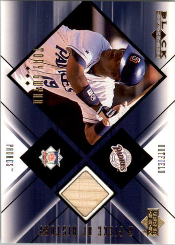 Photo of 2000 Black Diamond A Piece of History #TG Tony Gwynn Bat Relic Card PADRES