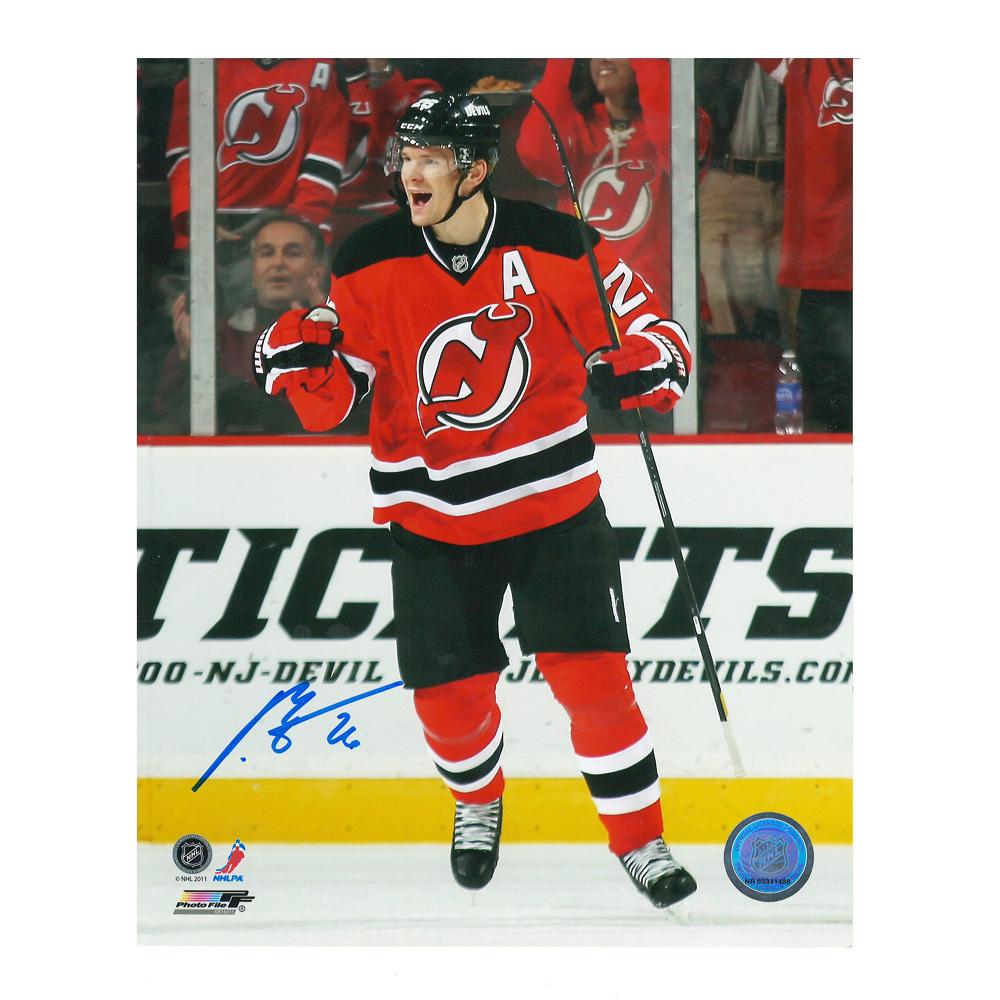 PATRIK ELIAS Signed New Jersey Devils 8 X 10 Photo - 70221