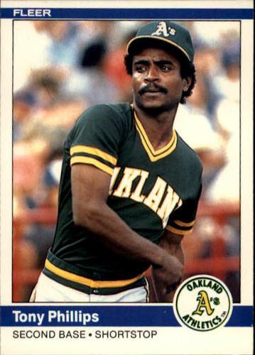 Photo of 1984 Fleer #459 Tony Phillips RC