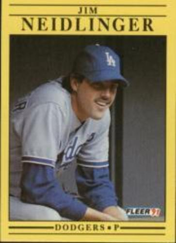 Photo of 1991 Fleer #215 Jim Neidlinger RC