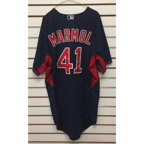 Photo of Carlos Marmol Team-Issued 2016 Road Batting Practice Jersey