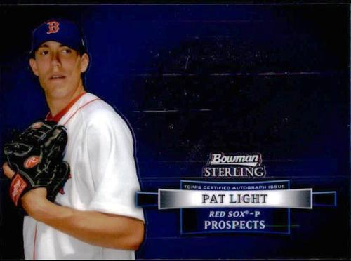 Photo of 2012 Bowman Sterling Prospect Autographs #PL Pat Light