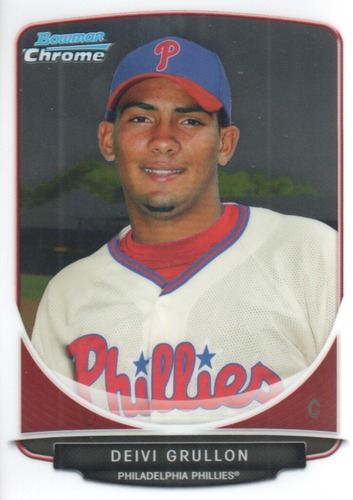 Photo of 2013 Bowman Chrome Prospects #BCP128 Deivi Grullon