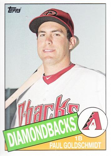 Photo of 2013 Topps Archives #115 Paul Goldschmidt -- D'backs post-season