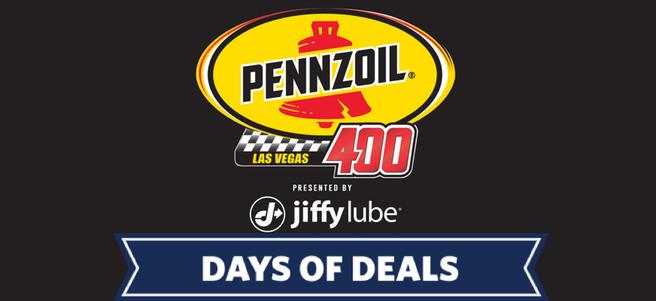 NASCAR PENNZOIL 400 AT LAS VEGAS MOTOR SPEEDWAY + HOTEL - PACKAGE 1 of 4