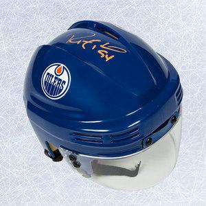 Ryan Smyth Edmonton Oilers Autographed Mini Helmet