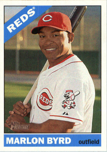 Photo of 2015 Topps Heritage #632 Marlon Byrd