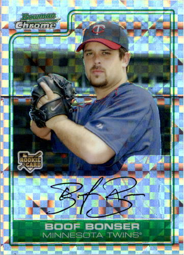 Photo of 2006 Bowman Chrome Draft X-Fractors #10 Boof Bonser