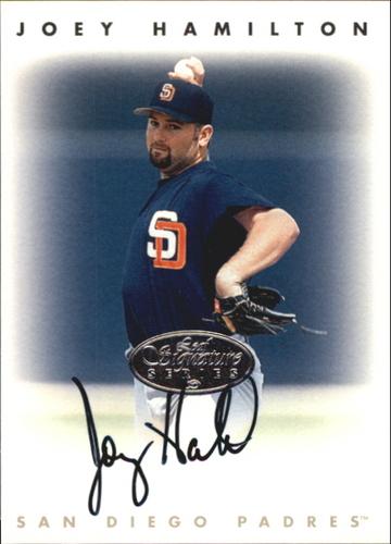 Photo of 1996 Leaf Signature Autographs Silver #90 Joey Hamilton