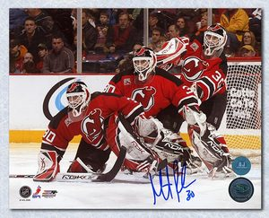 Martin Brodeur New Jersey Devils Autographed Multi Exposure 8x10 Photo
