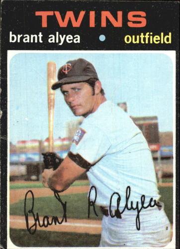 Photo of 1971 Topps #449 Brant Alyea