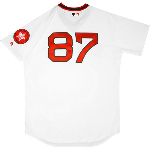 Photo of Boston Red Sox 1975 Throwback Complete Game-Used Uniform Set - Mike Brenly