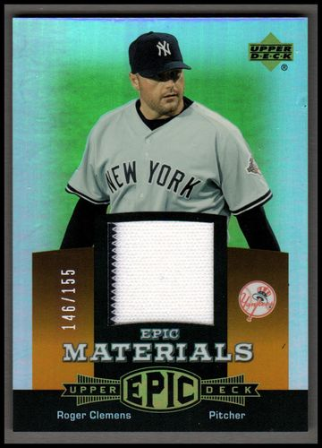 Photo of 2006 Upper Deck Epic Materials Orange #RC3 Roger Clemens Pants/155