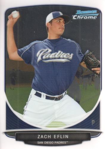 Photo of 2013 Bowman Chrome Prospects #BCP135 Zach Eflin