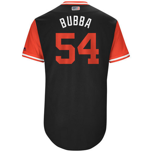 "Photo of Chris ""Bubba"" Beck Chicago White Sox Game-Used Players Weekend Jersey"