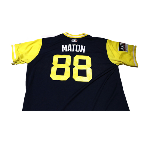 "Photo of Phil ""Maton"" Maton San Diego Padres Game-Used Players Weekend Jersey"