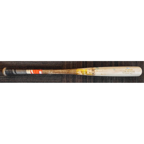 Photo of Tim Beckham - Broken Bat: Game-Used