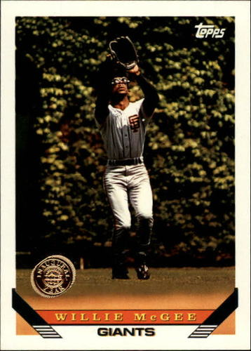 Photo of 1993 Topps Inaugural Rockies #435 Willie McGee